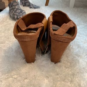 Lucky Brand Shoes - Lucky brand brown wedges